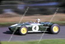 LOTUS 18 Innes Ireland Oulton Park Gold Cup 1960